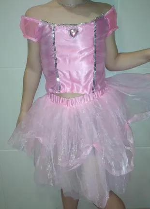 Карнавальный новогодний костюм восточная принцесса на 4-6 лет