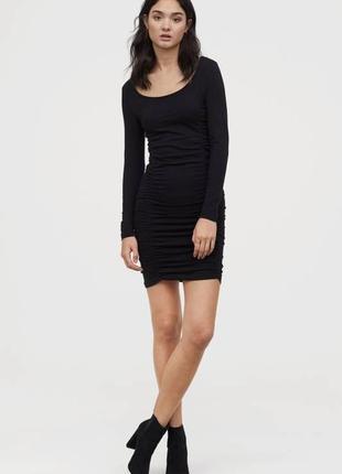 H&m женское платье с длинным рукавом