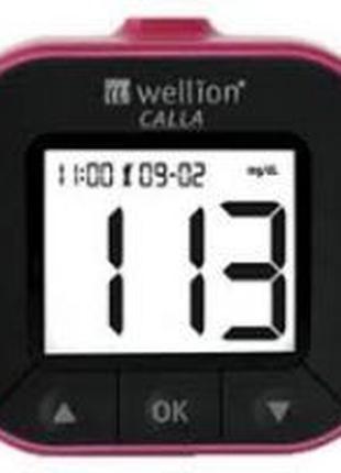 Глюкометр Wellion CALLA Light, набор для измерения глюкозы, (А...