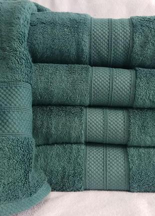 Полотенце микрокоттон green