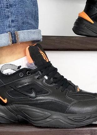 Зимние кроссовки nike mc texno на меху зима мужские  кросівки