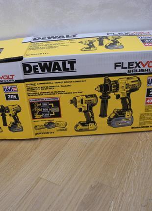 DEWALT DCK299D1T1 бесщеточный набор инструмента