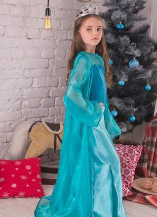 Карнавальный костюм Эльза корона