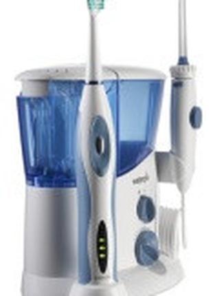 Зубной центр: ирригатор и звуковая щетка WP-900E2