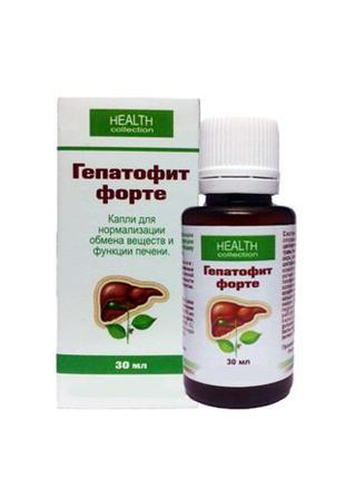 Гепатофит Форте - капли для очищения и восстановления печени