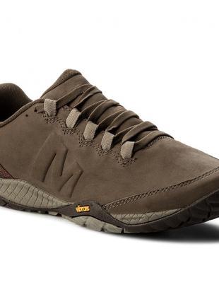 Кросівки MERRELL Parkway Emboss Lace J94431 , vibram , натуральна