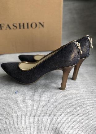 Стильные туфли - лодочки бренд