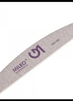 Пилка для ногтей Mileo 150/150