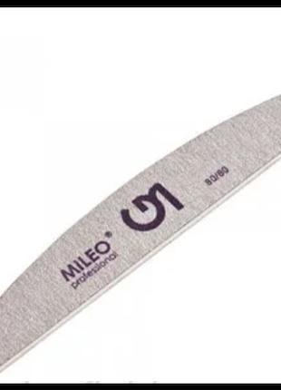 Пилка для ногтей Mileo 80/80