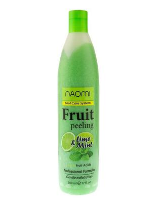 Пилинг для ног фруктовый Naomi Fruit Peeling, 500 мл