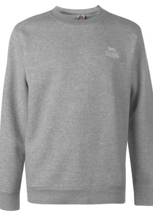 Серый светлый свитшот, кофта на байке бренд