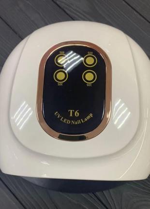 Лампа для маникюра LED+UV T6, 158 Вт