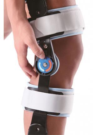 Шарнирный бандаж (ортез) на колено с ограничением сгибания Wel...