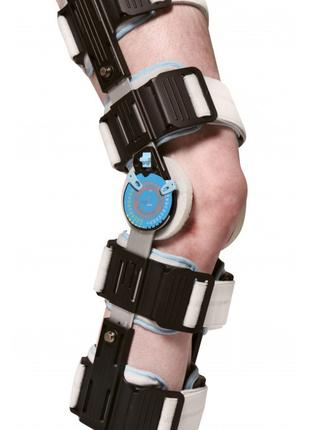 Шарнирный бандаж (ортез) на колено с регулируемой фиксацией We...