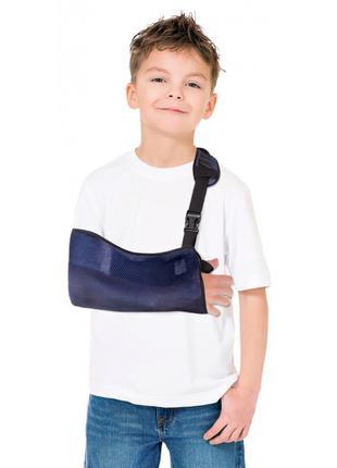 Бандаж детский поддерживающий для руки (косыночная повязка из ...