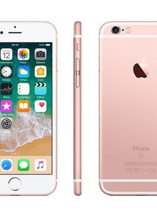 Б/У, Смартфон, Apple, iPhone, 6s+, 128GB, Rose