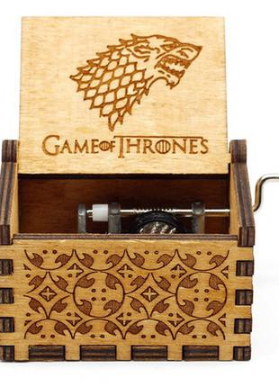 Музыкальная шкатулка в стиле ретро Game of Thrones