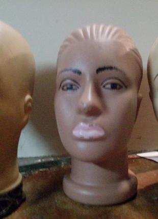 Голова манекена для демонстрации головных уборов