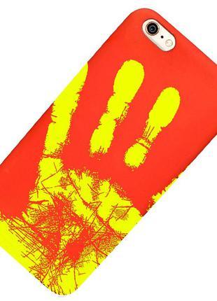 Термочувствительный чехол Ranipo для смартфона Красный