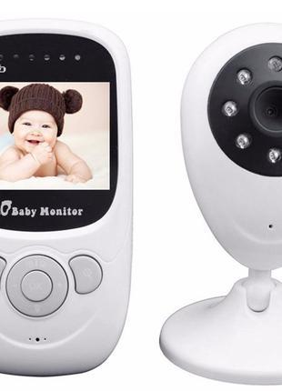 Видеоняня с режимом ночного видения и термометром SP880