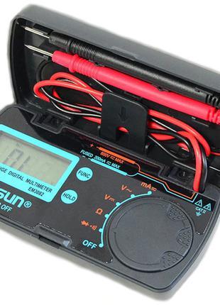 Цифровой мультиметр EM3082 амперметр вольтметр