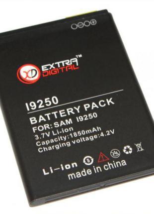 Аккумулятор Samsung i9250 (Galaxy Nexus), Extradigital, 1850 m...