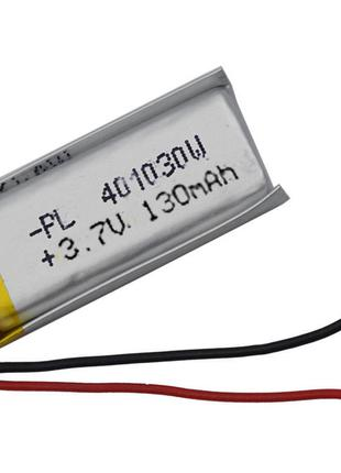 Аккумулятор Li-рo 3.7В 130 мАч 401030