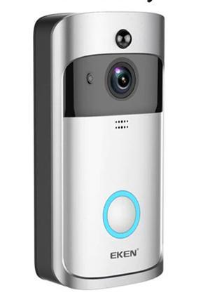Видеозвонок Eken V5 Смарт Wi-Fi с записью на micro SD