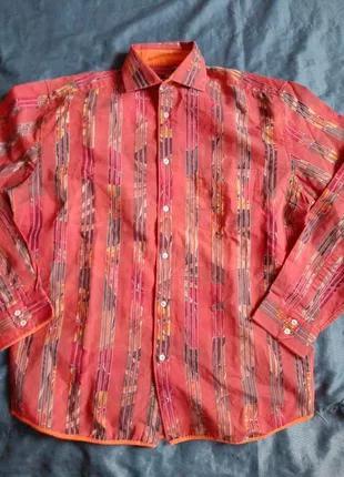 Стильная рубашка большого размера