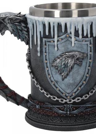 Кружка Суровая Зима Winter is Coming stark