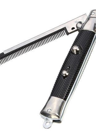 Расческа для волос складная в виде ножа