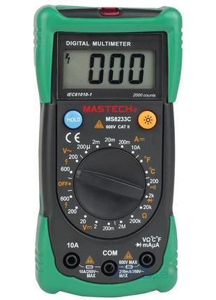 Мультиметр MasTech MS8233C профессиональный