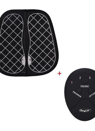 Массажный коврик EMS для ступней и ног