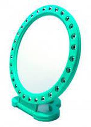 Зеркало круглое М с камнями (А91)