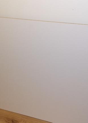 Белая стеновая панель LuxeForm