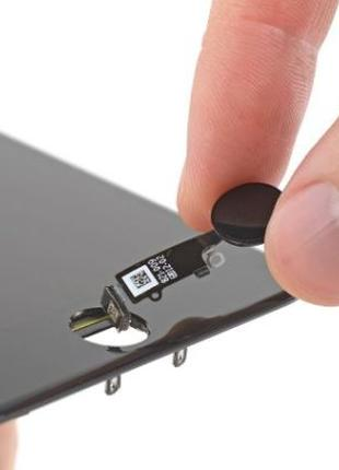 Кнопка HOME IPHONE с отпечатоком touch id ремонт замена 7,7+,8...