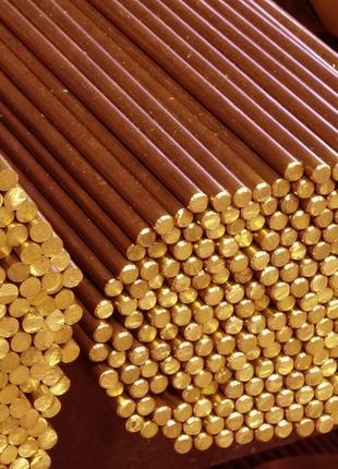 Пруток медный ГКРХХ, медный круг М1, 130 мм