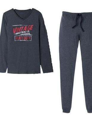 Мягусенькая пижама мужская р.евро 60 62 xxl livergy германия к...
