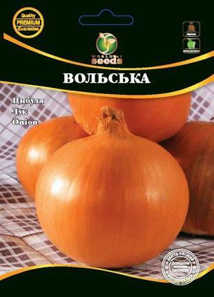 """Семена Лука """"Вольская"""" 100 г. WoS"""