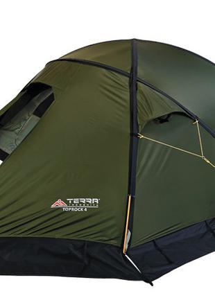 Палатка Terra Incognita Toprock 4 (зелений)