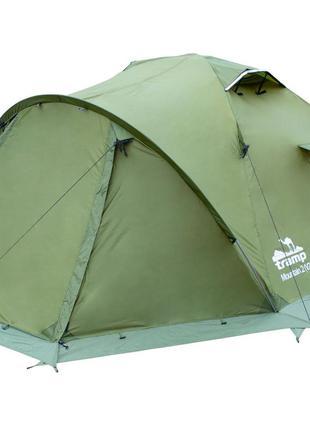 Палатка Tramp Mountain 2 v2 зеленая (TRT-022-green)