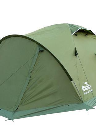 Палатка Tramp Mountain 3 v2 зеленая (TRT-023-green)