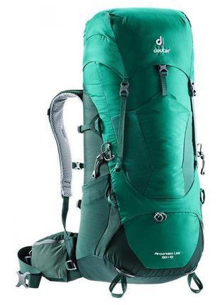 Рюкзак Deuter Aircontact Lite 50+10 цвет 2231 alpinegreen-fore...