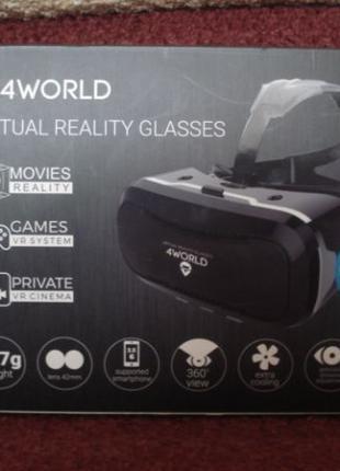 Очки виртуальной реальности 4WORLD