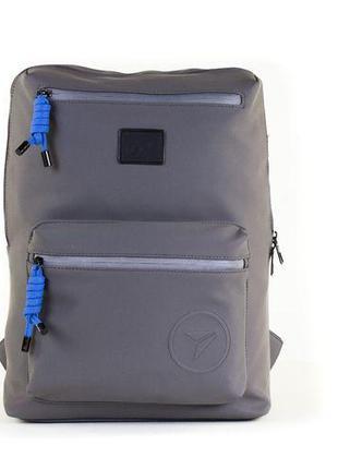 Рюкзак міський YES soft-touch T-62 Grey Shadow (557301)