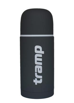 Термос Tramp Soft Touch 1.0 л серый (TRC-109-grey)