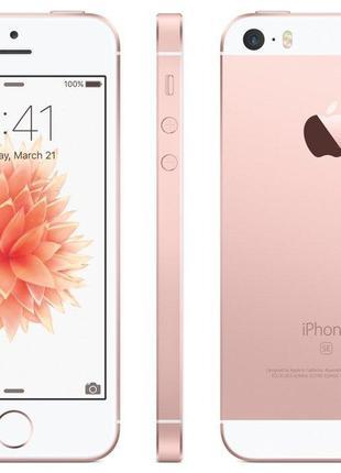Б/У, Смартфон, Apple, iPhone SE, 128GB, Rose