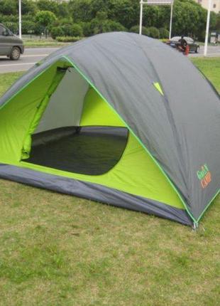 Кемпинговая 4-х местная палатка Green Camp 1018