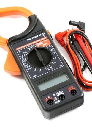 Мультиметр / Токовые клещи / тестер Digital DT 266 F