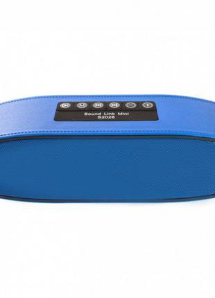 Портативная колонка S-2026 с FM радио